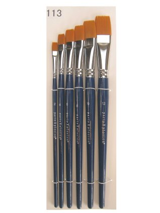 Flat brush set