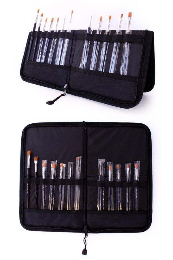 Folding Brush Bag 44x37cm (Brushes NOT INCLUDED)