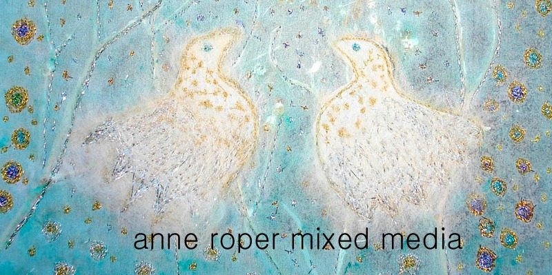 banner 8 anne mixed media