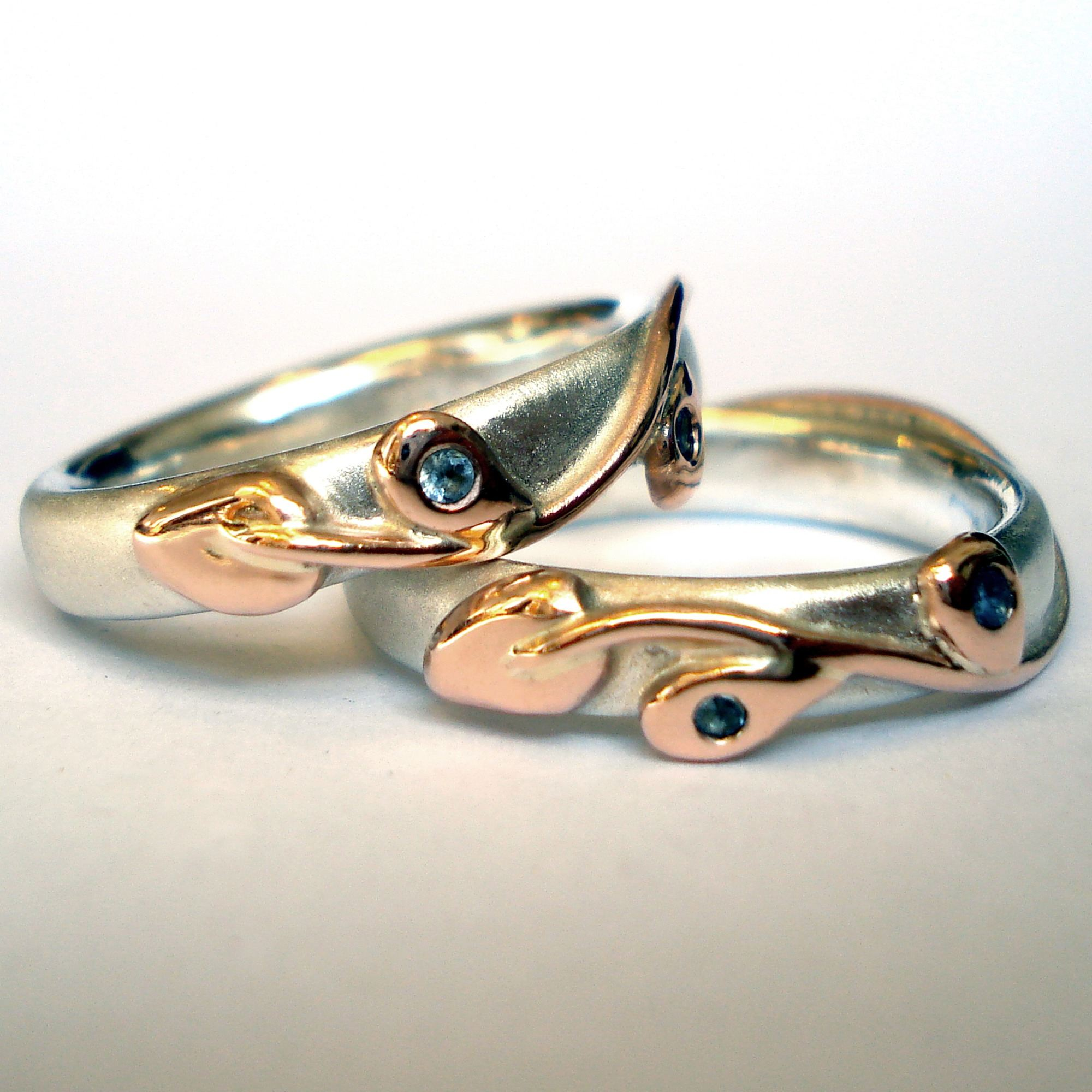 rings accented wedding enamel ring diamonds revival with nouveau horned egyptian art beetle