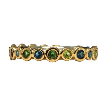 Stepping Stones Eternity ring