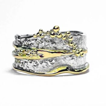 Bark seed cluster ring
