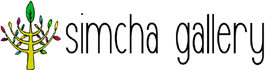 simcha gallery, site logo.