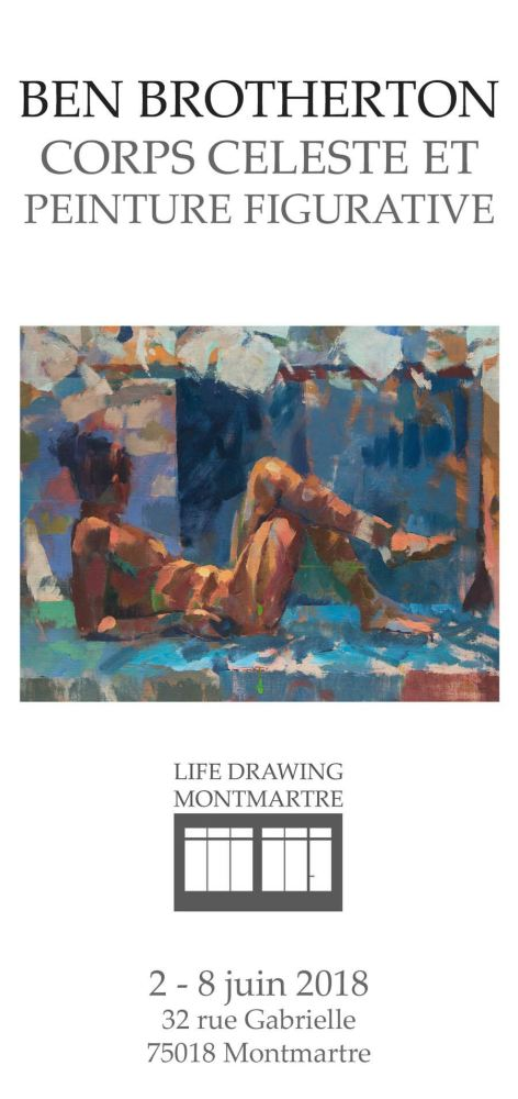 Life Drawing Montmartre 2018