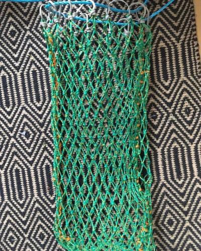 SLOW FEEDER 2ft slim 25mm mesh mini net 3mm BLACK
