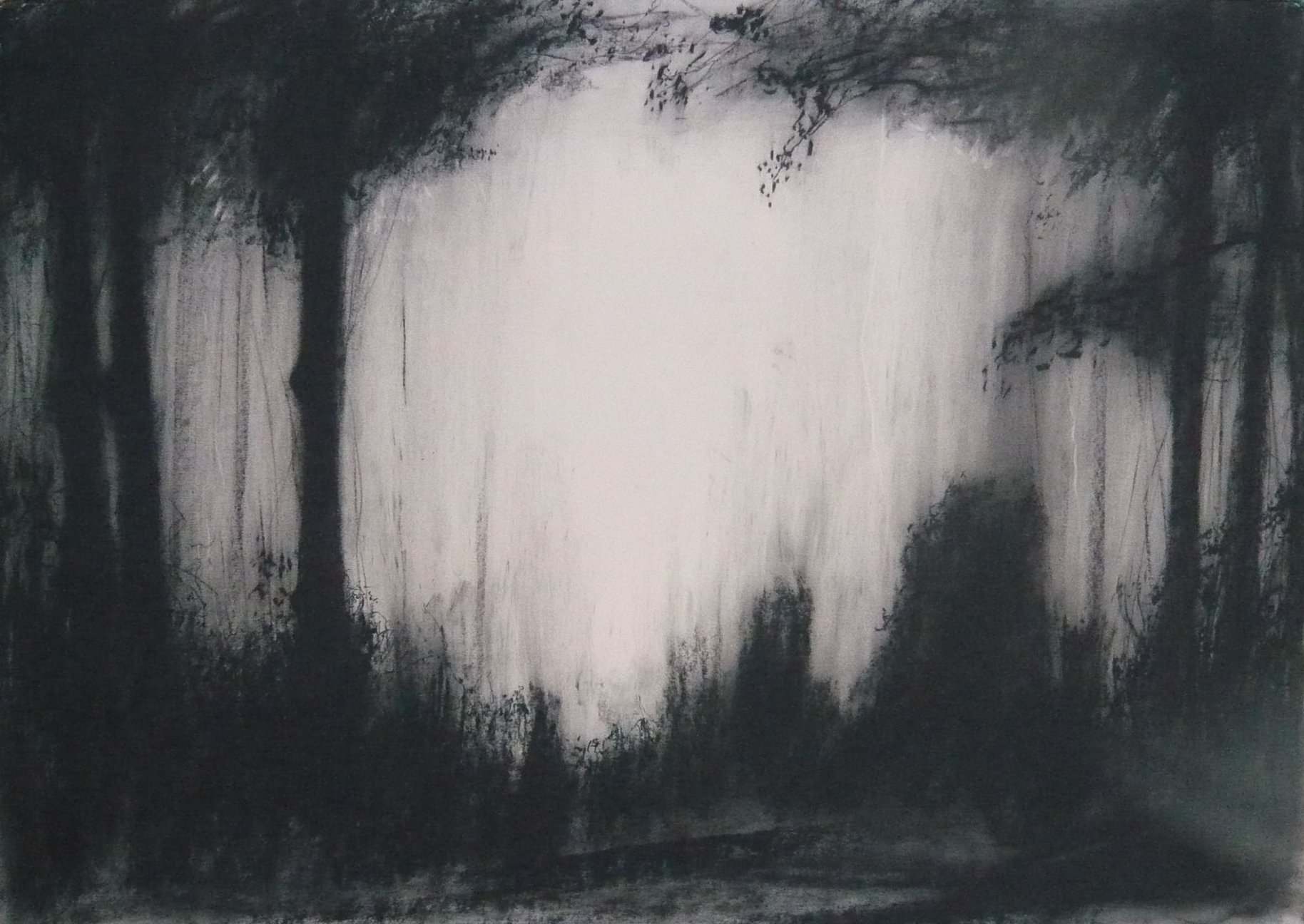 Maker Walk ENE #3 - Charcoal on Surrey cartridge paper (594 x 841 mm)