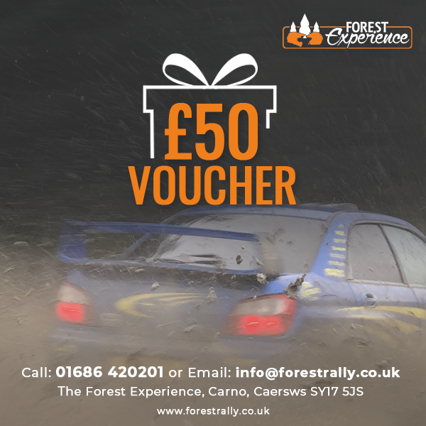 £50 Rally Course Gift Voucher