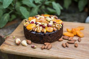 Glazed Fruit & Nut Christmas cake 1kg