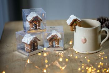 Gingerbread Mug Topper