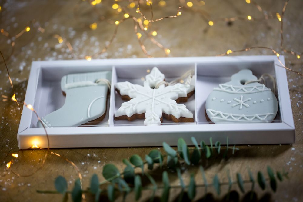 Trio of Gingerbread decorations