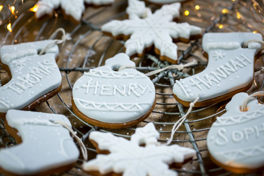 Gingerbread decoration - personalised
