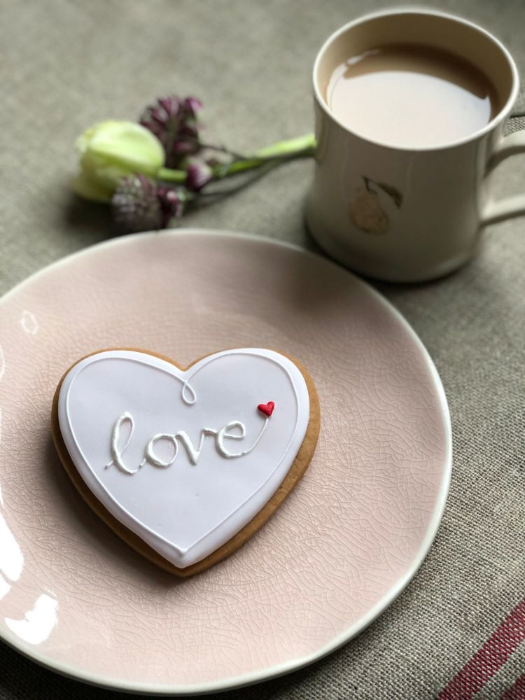Love Heart biscuit