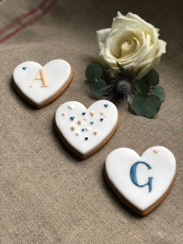 Personalised biscuit trio