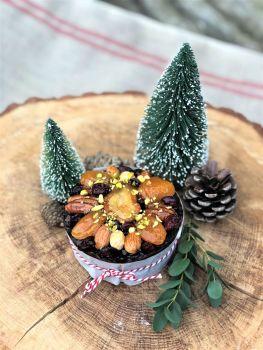 Glazed Fruit & Nut Christmas cake 350g