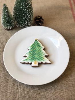 Christmas Tree gingerbread biscuit