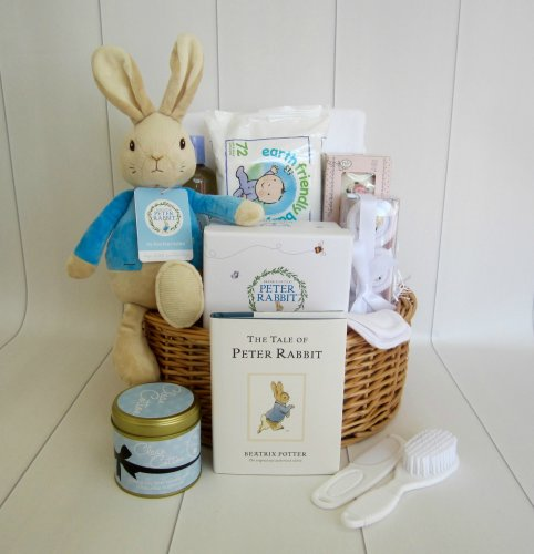 Peter Rabbit Mummy & Baby Gift Basket