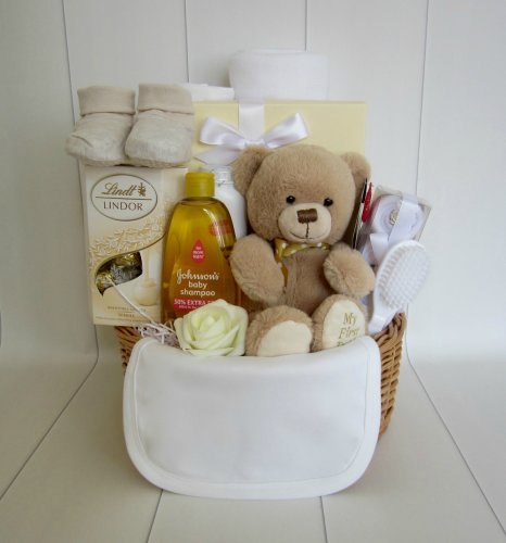 Teddy Bear Unisex Gift Basket