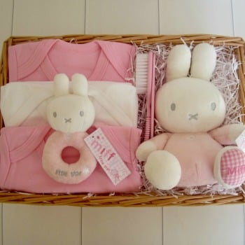 Miffy Baby Girl Hamper