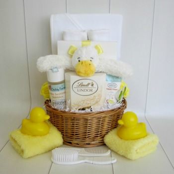 Bath Time Baby Gift Basket