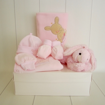 Bunny Baby Girl Gift Box Hamper