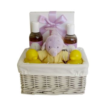 Humphrey's Corner Bath Time Unisex Hamper