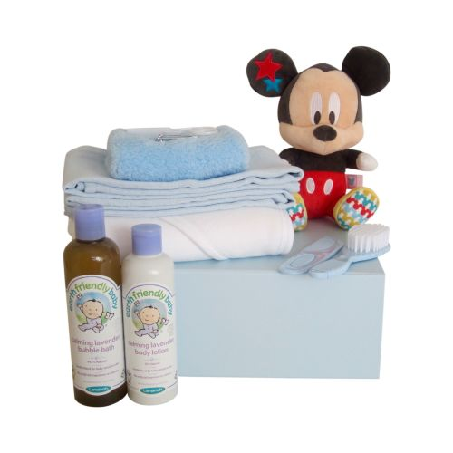 Bath Time Hamper Box With Mickey Mouse