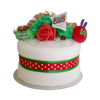 Hungry Caterpillar Nappy Cake