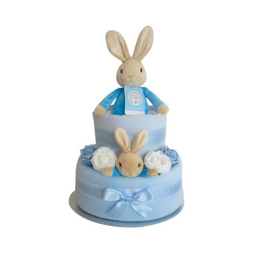 Peter Rabbit Two Tier Nappy Cake