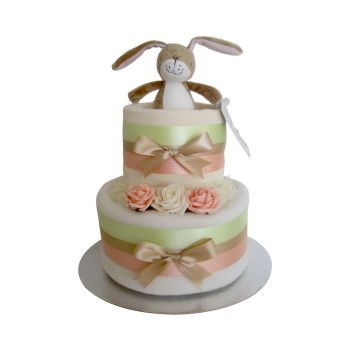 Guess How Much I Love You Unisex Nappy Cake