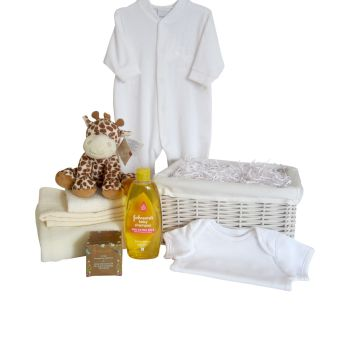 Baby Essentials Giraffe Unisex Hamper