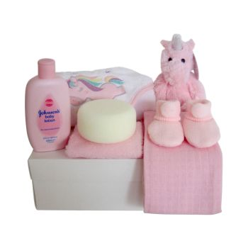 New Baby Girl Unicorn Gift Box