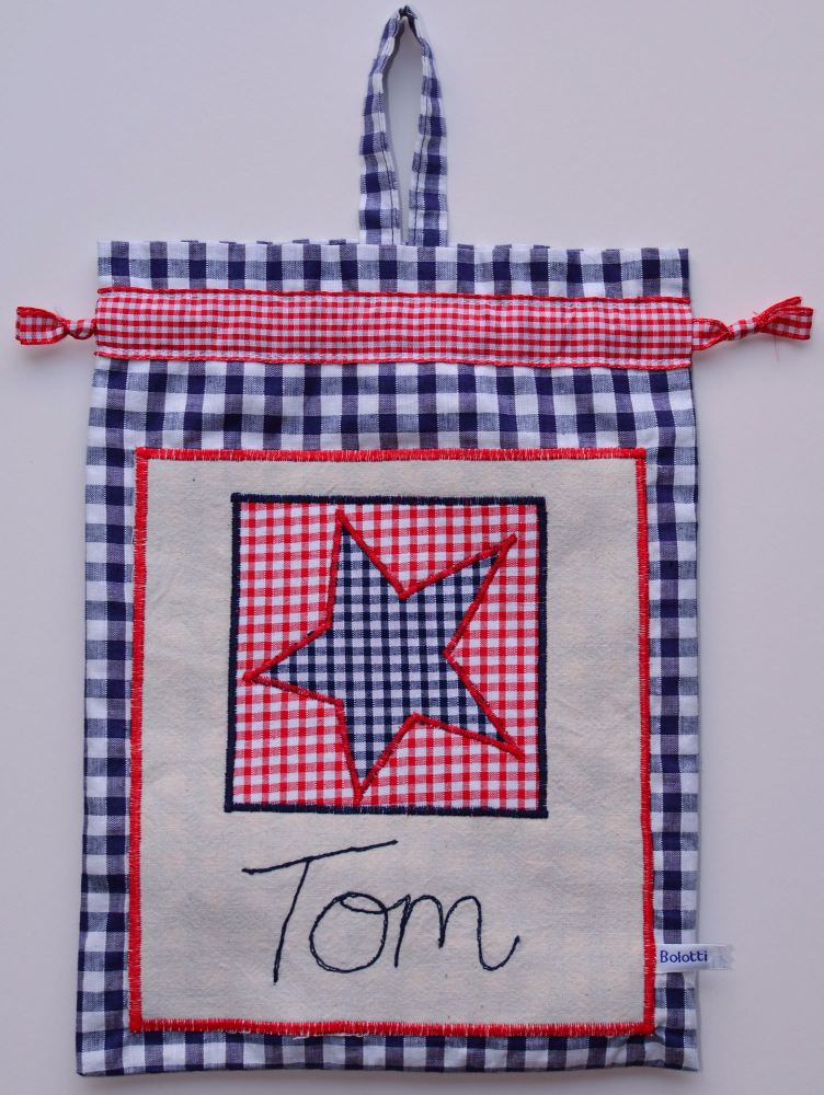 Star Personalised Wash Bag