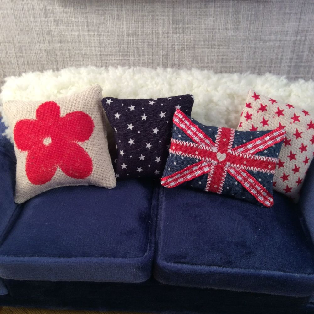 Union Jack Cushion Set