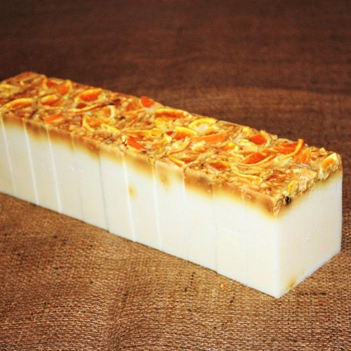 Orange Peel Soap Loaf
