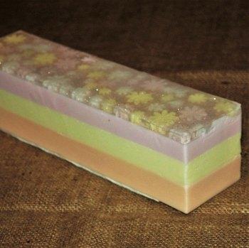 Flower Soap Loaf