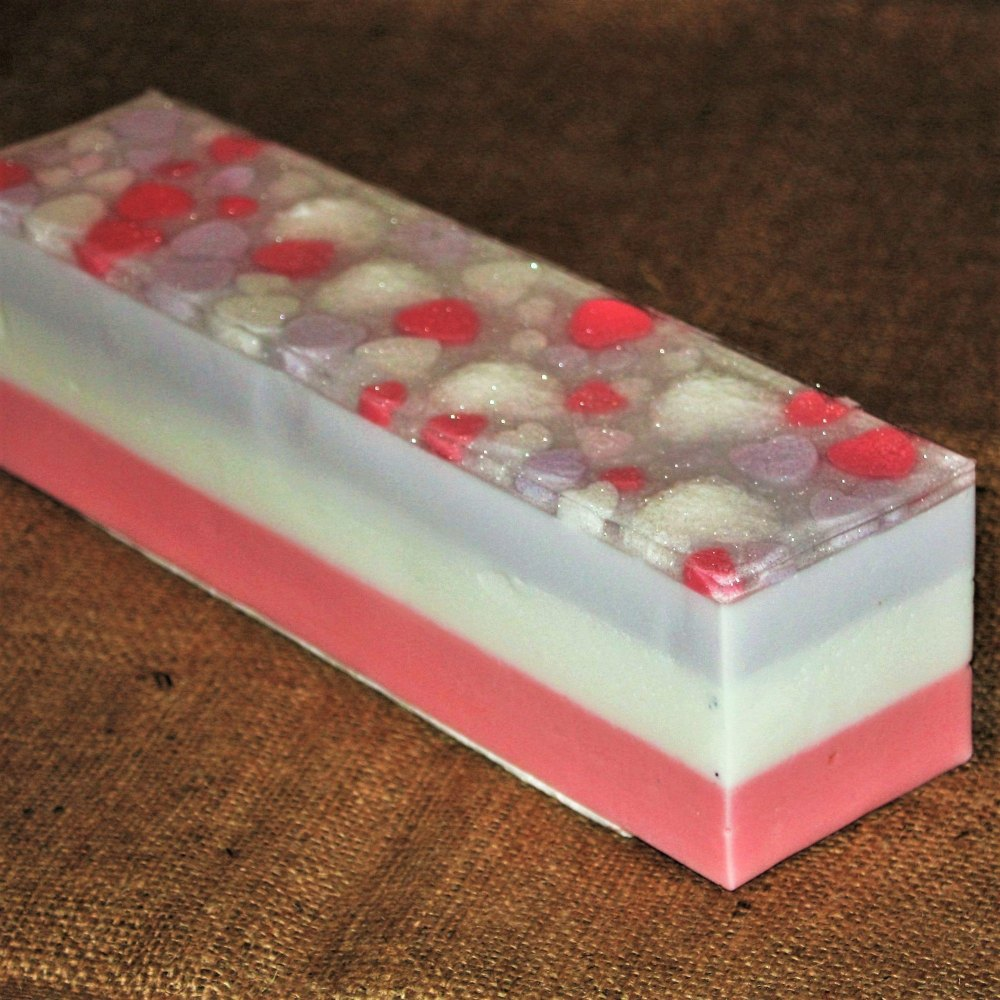 Heart Soap Loaf (Strawberry)