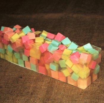 Tutti Frutti Soap Loaf