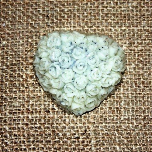Luxury Lemon Poppeyseed Heart