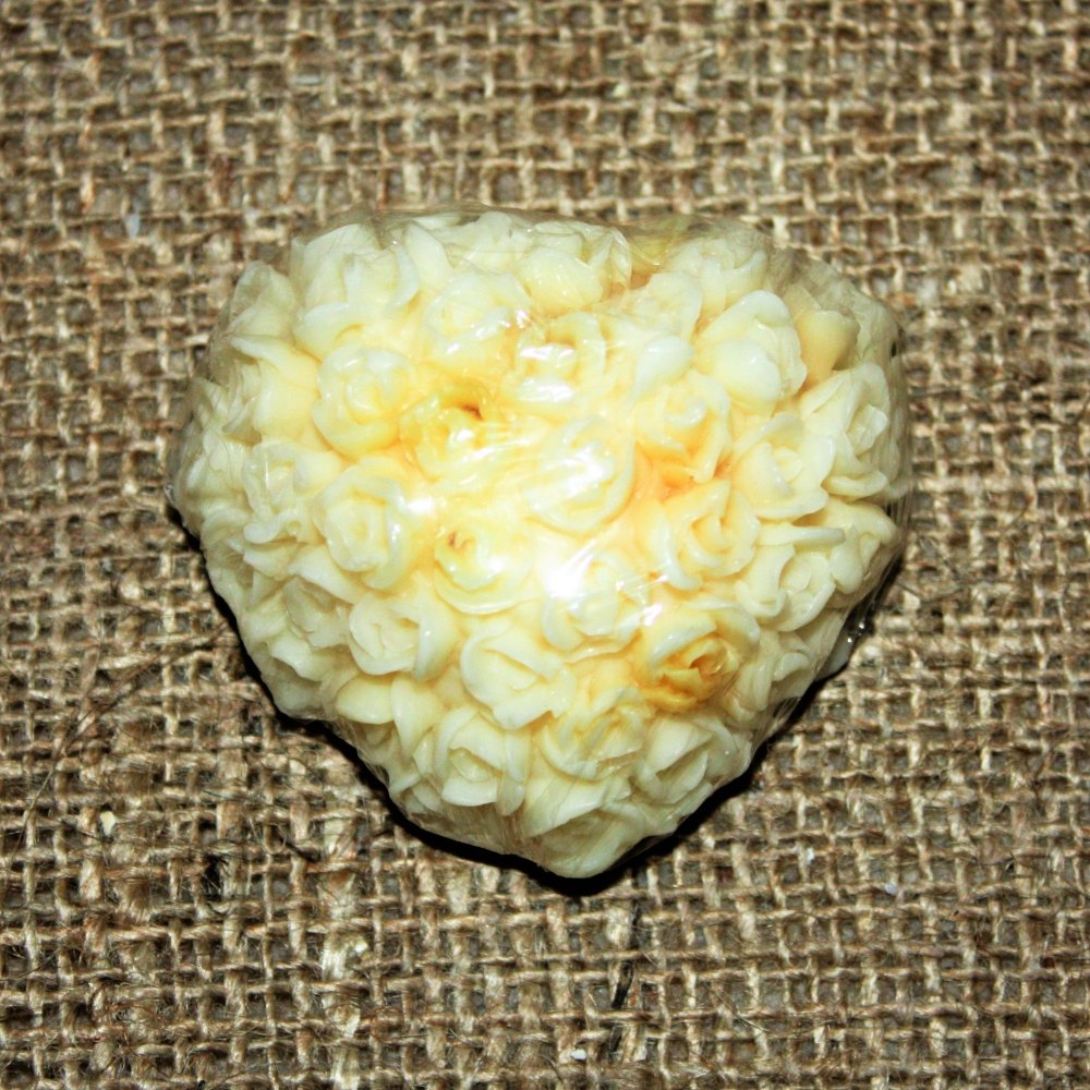 Luxury Orange Peel Heart