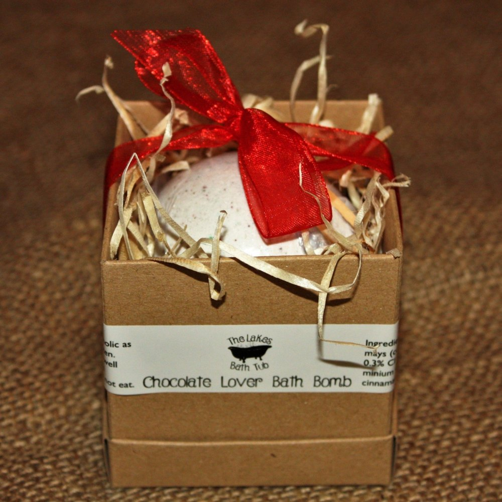 Chocolate Lover Bath Bomb In Gift Box