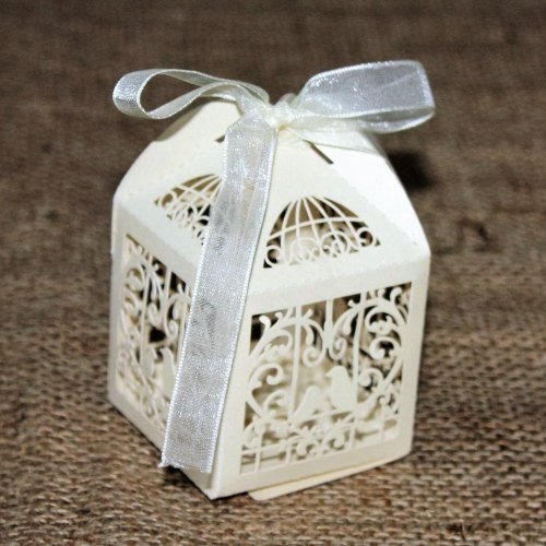 Ivory Love Bird Boxes