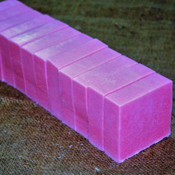 Rose (Shea Butter) Soap Loaf