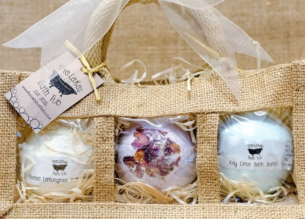 The Lakes Bath Tub Handmade Soap Bath Bombs Lotion
