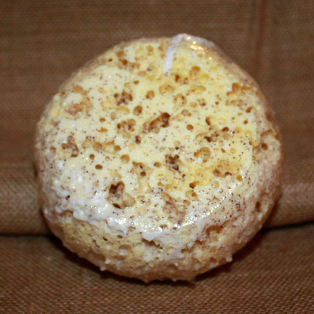 Crushed Peach Stone Soap Sponge