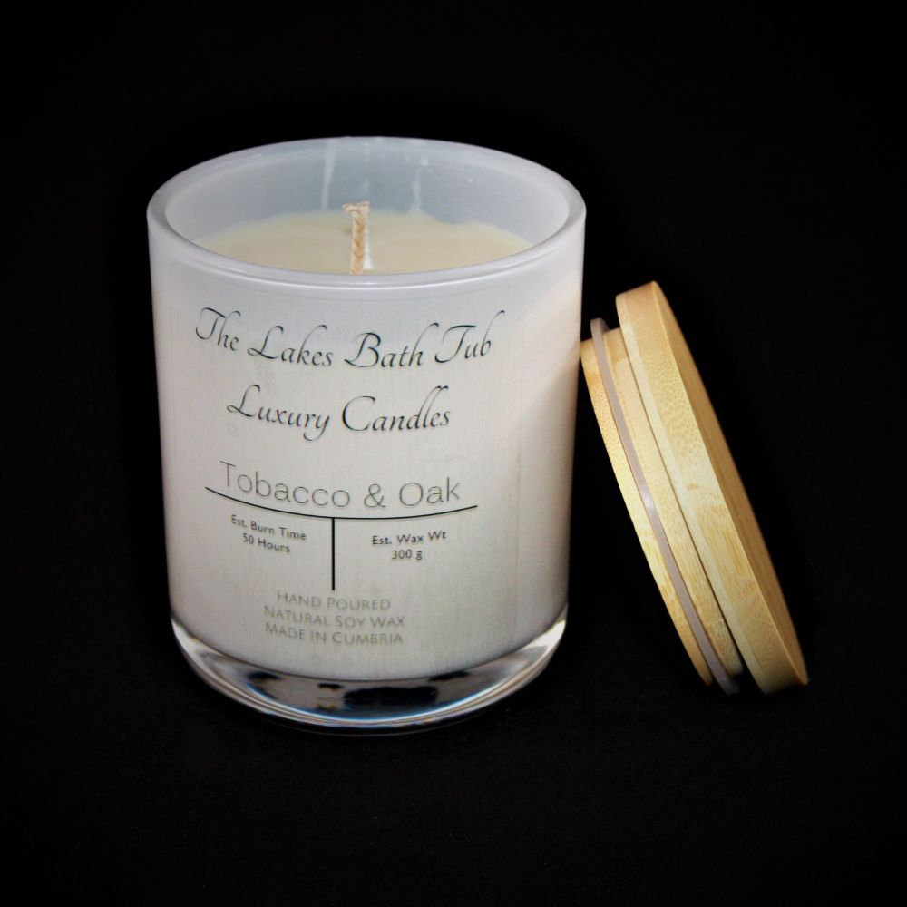 Tobacco & Oak Cambridge Candle