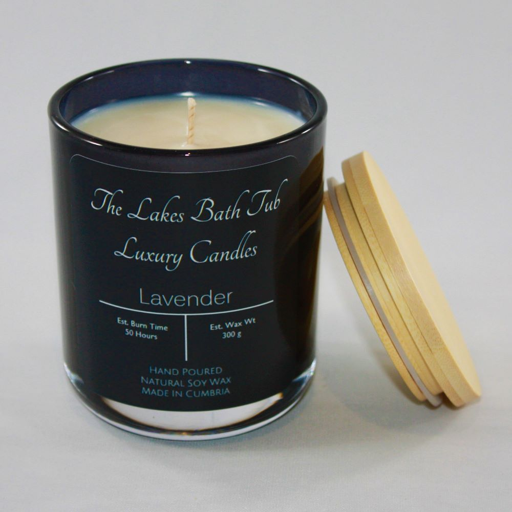 <!--004-->Large Cambridge Candle - Black