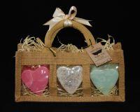 <!--020-->Soap Heart Gift Set