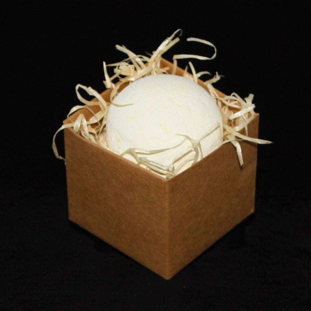Sherbet Lemongrass Bath Bomb In Gift Box