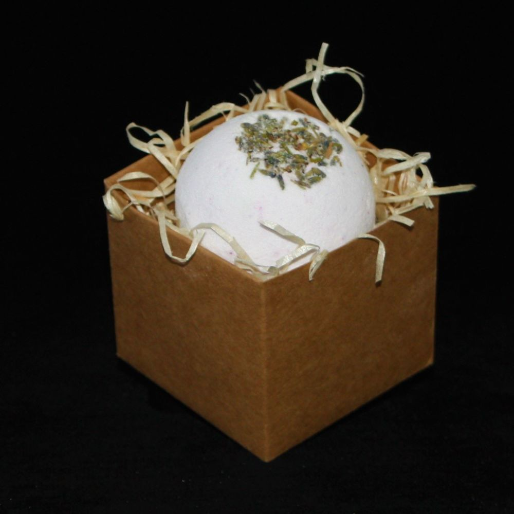 Luxury Lavender Bath Bomb In Gift Box