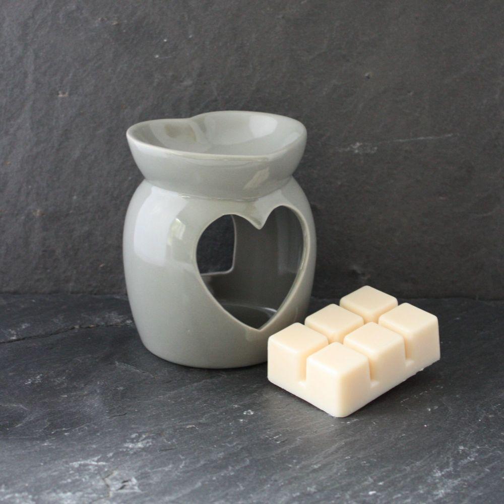 DUE MAY Grey Wax Melt/Oil Burner